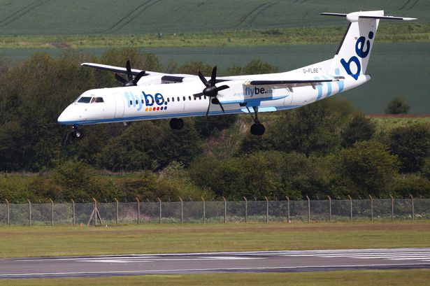 flybe at newquay